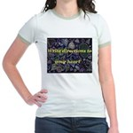 Directions to your Heart Jr. Ringer T-Shirt