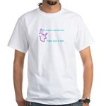 Crumple a Sacred Cow White T-Shirt