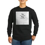 Toy with your thoughts Long Sleeve Dark T-Shirt