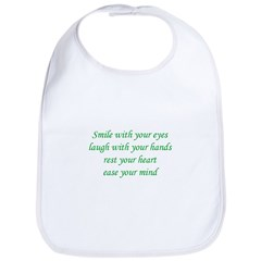 Smile with your eyes Bib