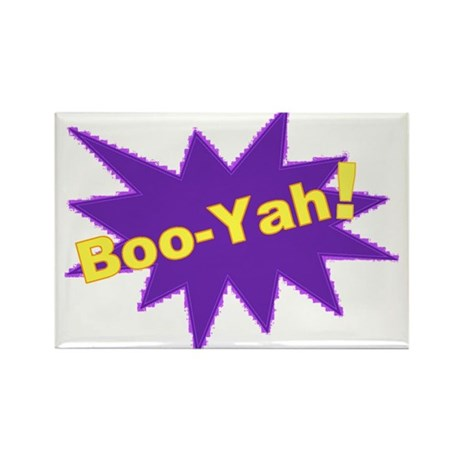 Boo-Yah! Rectangle Magnet