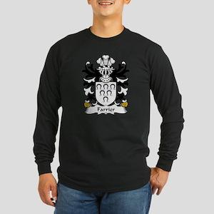 Farrier Family Crest Long Sleeve Dark T-Shirt