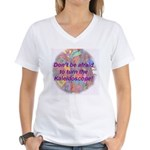 Kalaidoscope Women's V-Neck T-Shirt