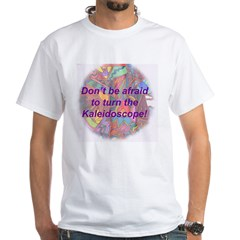 Kalaidoscope White T-Shirt