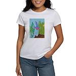 Fish Face (blue) Women's T-Shirt