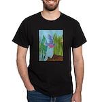 Fish Face (blue) Dark T-Shirt