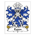 Eyton Family Crest Small Poster
