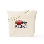 Love Father Tote Bag