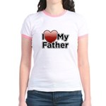 Love Father Jr. Ringer T-Shirt