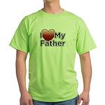 Love Father Green T-Shirt