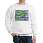 Bent Sunflower (grey) Sweatshirt