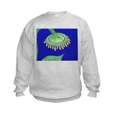 Bent Sunflower (blue) Sweatshirt