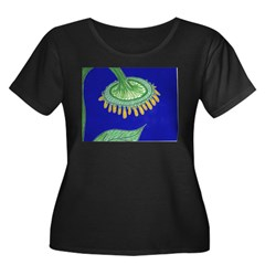 Bent Sunflower (blue) T