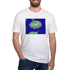 Bent Sunflower (blue) Shirt