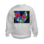 Twin Orchids Kids Sweatshirt