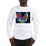 Twin Orchids Long Sleeve T-Shirt