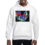 Twin Orchids Hooded Sweatshirt