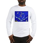 Buddah Orchid Long Sleeve T-Shirt
