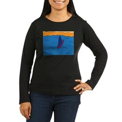 Lone Boat (blue) T-Shirt