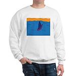 Lone Boat (blue) Sweatshirt