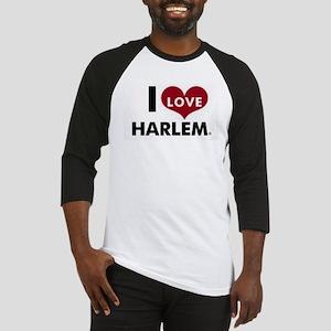 I Love Harlem Baseball Jersey