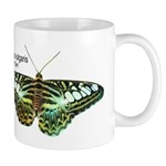 Blue Glassy Tiger Mug