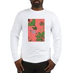 small Botanical (pink) Long Sleeve T-Shirt