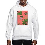 small Botanical (pink) Hooded Sweatshirt