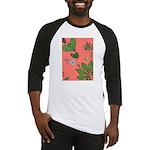 small Botanical (pink) Baseball Jersey