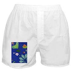 small Botanical (blue) Boxer Shorts