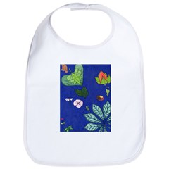 small Botanical (blue) Bib