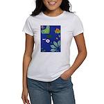 small Botanical (blue) Women's T-Shirt