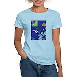 small Botanical (blue) Women's Light T-Shirt