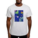 small Botanical (blue) Light T-Shirt