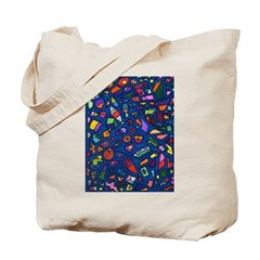 Gift Wrap Tote Bag