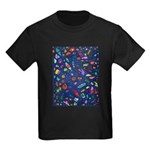 Gift Wrap Kids Dark T-Shirt