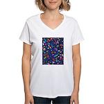 Gift Wrap Women's V-Neck T-Shirt