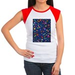 Gift Wrap Women's Cap Sleeve T-Shirt