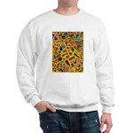 Gift Wrap (yellow) Sweatshirt