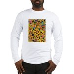 Gift Wrap (yellow) Long Sleeve T-Shirt