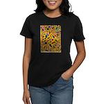 Gift Wrap (yellow) Women's Dark T-Shirt
