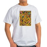 Gift Wrap (yellow) Light T-Shirt