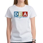 DFA - DEMOCRACY FOR AMERICA Women's T-Shirt
