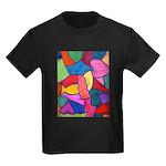 Glass Candy Dish Kids Dark T-Shirt