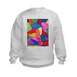 Glass Candy Dish Kids Sweatshirt
