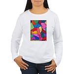 Glass Candy Dish Women's Long Sleeve T-Shirt