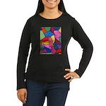 Glass Candy Dish Women's Long Sleeve Dark T-Shirt