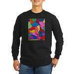 Glass Candy Dish Long Sleeve Dark T-Shirt