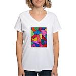 Glass Candy Dish Women's V-Neck T-Shirt