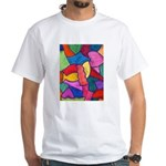 Glass Candy Dish White T-Shirt